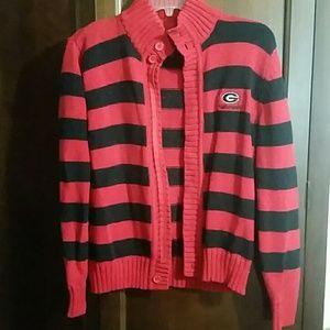 Georgia Bulldog Sweater